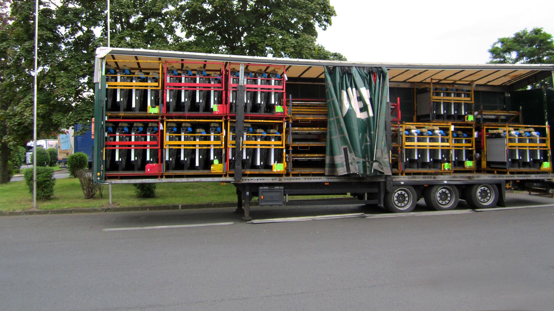 besuch der iaa nutzfahrzeugmesse hannover forstmann transporte gmbh co kg werte bewegen. Black Bedroom Furniture Sets. Home Design Ideas
